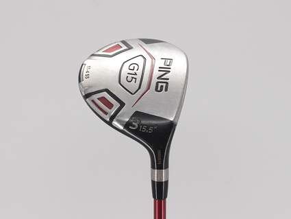 Ping G15 Fairway Wood 3 Wood 3W 15.5° Ping TFC 300F Graphite Regular Right Handed 42.75in