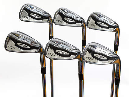 Callaway Apex Pro 16 Iron Set 4-9 Iron Dynamic Gold Tour Issue X100 Steel X-Stiff Right Handed White Dot 38.25in