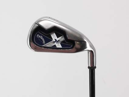 Callaway X-18 Single Iron 6 Iron Callaway System CW75 Graphite Regular Right Handed 37.5in