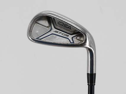 Adams Idea A7 OS Single Iron 8 Iron Grafalloy Blue Graphite Regular Right Handed 36.75in