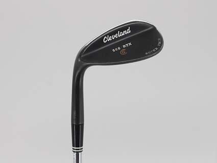 Cleveland 588 RTX Black Pearl Wedge Sand SW 56° 14 Deg Bounce True Temper Dynamic Gold Steel Wedge Flex Left Handed 35.5in