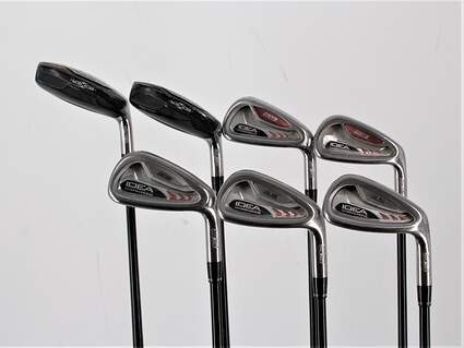 Adams Idea A3 Iron Set 4H 5H 6-PW Grafalloy ProLaunch Red Graphite Regular Right Handed 38.75in