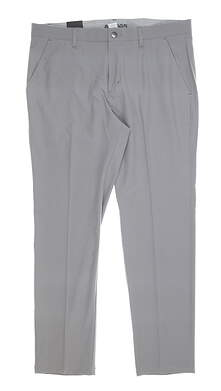 New Mens Adidas Ultimate Tapered Pants 38 x32 Gray MSRP $80 DQ2200