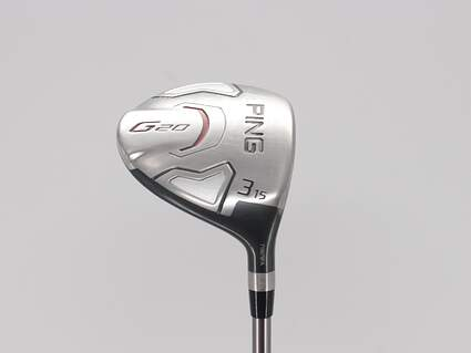 Ping G20 Fairway Wood 3 Wood 3W 15° Ping TFC 169F Graphite Stiff Right Handed 43.0in