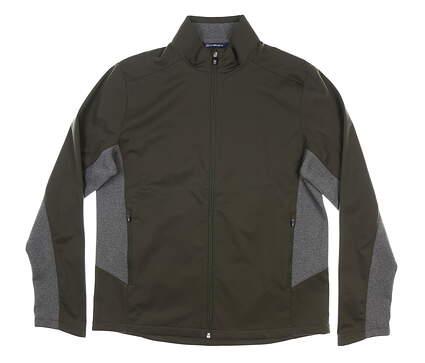 New Mens Cutter & Buck Navigate Softshell Jacket Large L Poplar MSRP $115
