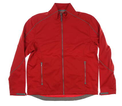 New Mens Cutter & Buck Softshell Jacket Medium M Red MSRP $115
