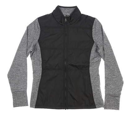 New Womens Cutter & Buck Stealth Full-Zip Jacket Medium M Black MSRP $130 LCK00042