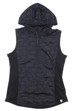 New Womens CBUK Swish Printed Sport Vest Medium M Black MSRP $65 LBC00002