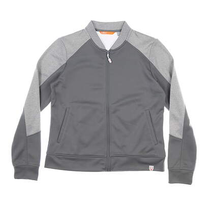 New Womens CBUK Pop Fly Jacket Medium M Gray MSRP $70 LBK00023