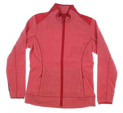 New Womens Cutter & Buck Cedar Park Full-Zip Jacket Medium M Red MSRP $120 LCO09990