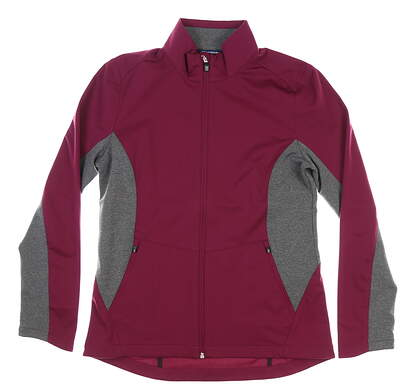 New Womens Cutter & Buck Navigate Softshell Jacket Medium M Affinity MSRP $115 LCO00032