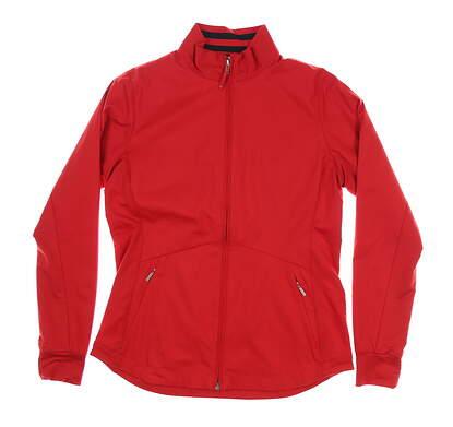 New Womens Cutter & Buck Nine Iron Jacket Medium M Red MSRP $105 LCO00005