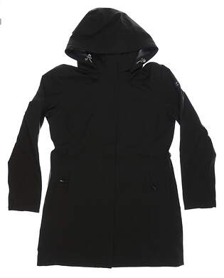 New Womens Cutter & Buck Jacket Medium M Black MSRP $280 LCO00028