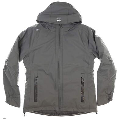 New Womens Cutter & Buck Alpental Jacket Medium M Gray MSRP $300 LCO09977