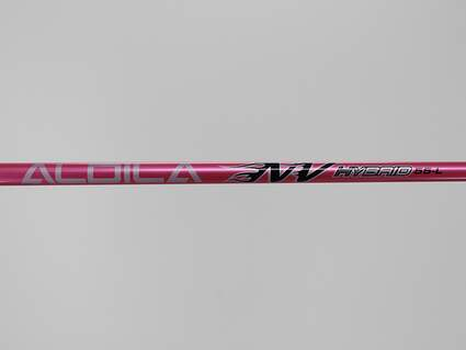 Used W/ Adapter Aldila Pink NV 55 Hybrid Shaft Ladies 37.75in Right Handed PXG Adapter