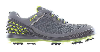 New Mens Golf Shoe Ecco Cage EVO Medium 41 (7-7.5) Gray MSRP $190 13251450083