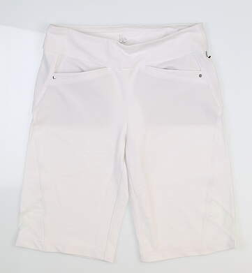 New Womens Tail Shorts 6 White MSRP $85 GR4495-0014
