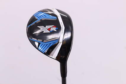 Callaway XR Fairway Wood 7 Wood 7W Project X LZ Graphite Ladies Right Handed 41.25in