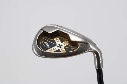 Callaway X-18 Single Iron Pitching Wedge PW Callaway System CW75 Graphite Regular Right Handed 35.5in