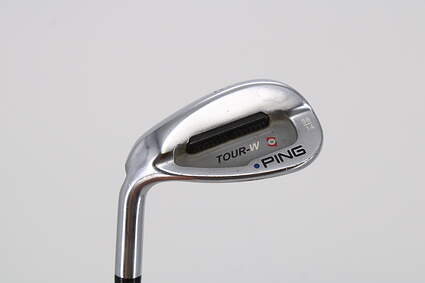 Ping Tour-W Brushed Silver Wedge Sand SW 56° 14 Deg Bounce Ping TFC 169I Graphite Regular Left Handed Blue Dot 35.0in