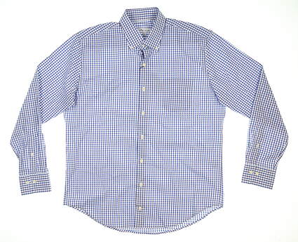 New Mens Peter Millar Button Down Large L Multi MSRP $148 MS20W17NBL