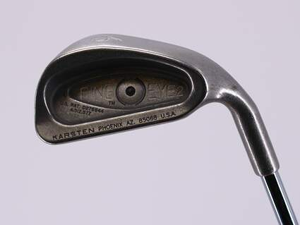 Ping Eye 2 Single Iron 6 Iron Ping ZZ Lite Steel Stiff Right Handed Black Dot 37.25in