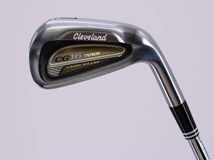 Cleveland CG16 Tour Satin Chrome Single Iron 7 Iron 34° True Temper Dynamic Gold X100 Steel X-Stiff Right Handed 37.0in