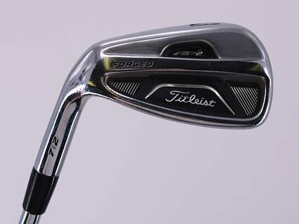 Titleist 712 AP2 Single Iron Pitching Wedge PW FST KBS Tour Steel X-Stiff Left Handed 35.75in