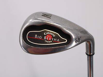Callaway 2004 Big Bertha Wedge Gap GW 50° Callaway Stock Steel Steel Uniflex Right Handed 35.5in