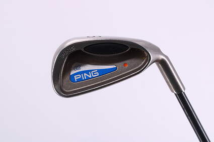 Ping G2 Single Iron 6 Iron Ping TFC 100I Graphite Regular Right Handed Orange Dot 37.5in