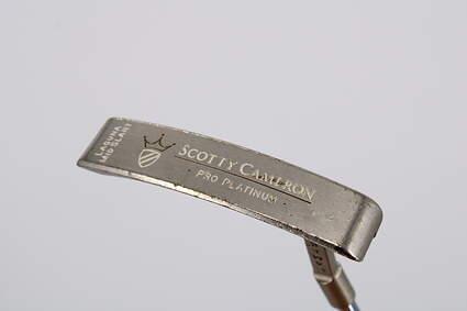 Titleist Scotty Cameron Pro Platinum Laguna Mid Slant Putter Steel Right Handed 32.0in