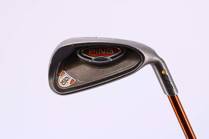 Ping G10 Single Iron 7 Iron Ping TFC 129I Graphite Regular Right Handed Yellow Dot 35.75in