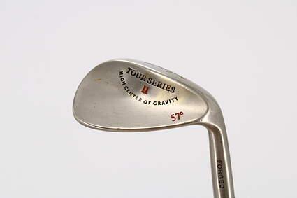 Ben Hogan Tour Series II Wedge Sand SW 57° Stock Steel Shaft Steel Wedge Flex Right Handed 35.25in