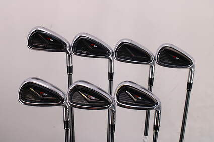 TaylorMade R9 Iron Set 5-PW GW TM Motore Graphite Stiff Right Handed 38.5in