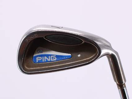 Ping G2 Single Iron 7 Iron True Temper Dynalite Steel Stiff Right Handed White Dot 36.75in