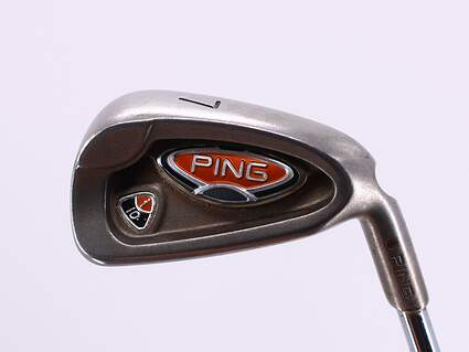 Ping i10 Single Iron 7 Iron True Temper Dynamic Gold R300 Steel Regular Right Handed Red dot 36.25in