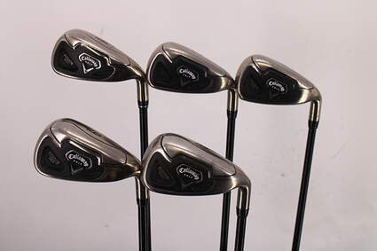 Callaway Fusion Wide Sole Iron Set 6-PW Callaway 75 Gram Graphite Senior Right Handed 37.5in