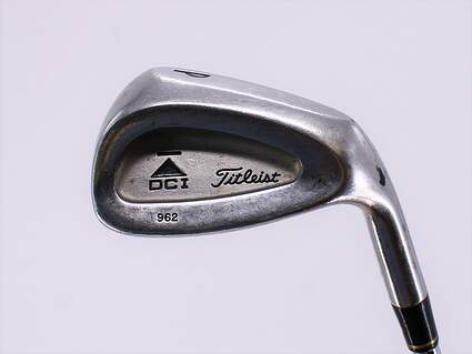 Titleist DCI 962 B Single Iron Pitching Wedge PW True Temper Dynamic Gold Steel Stiff Right Handed 35.0in
