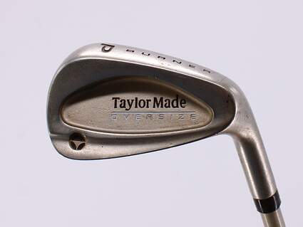 TaylorMade Burner Oversize Single Iron Pitching Wedge PW Stock Graphite Shaft Graphite Ladies Right Handed 34.5in