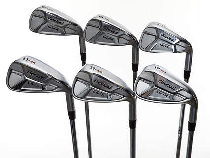 Mint Cleveland Launcher UHX Iron Set 5-PW True Temper Dynamic Gold DST98 Steel Stiff Right Handed +1 Degree Upright 38.25in