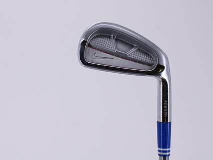Nike Victory Red Split Cavity Single Iron 5 Iron True Temper Tour Concept Steel Tour Stiff Right Handed 38.75in