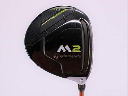 Tour Issue TaylorMade M2 Fairway Wood 3 Wood 3W 15° Graphite Design Tour AD DI-7 Graphite Stiff Right Handed 43.5in