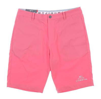 New Mens Puma Jackpot Shorts 33 Rapture Pink MSRP $65 578182 24