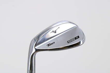 Mizuno T20 Satin Chrome Wedge Sand SW 56° 10 Deg Bounce True Temper Dynamic Gold Steel Regular Left Handed 35.5in