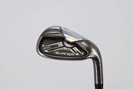 TaylorMade Burner 2.0 Single Iron Pitching Wedge PW TM REAX SUPERFAST 55 Graphite Ladies Right Handed 35.0in