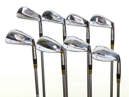 Titleist T Stamp Forged Iron Set 3-PW Project X 6.0 Steel Stiff Right Handed 38.0in
