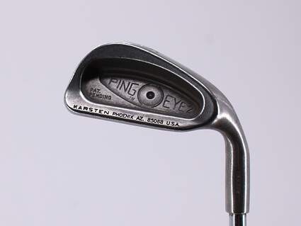 Ping Eye 2 Single Iron 5 Iron Stock Steel Shaft Steel Stiff Right Handed Black Dot 37.5in