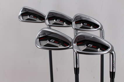 Ping G410 Iron Set 6-PW ALTA CB Red Graphite Senior Right Handed Green Dot 37.75in