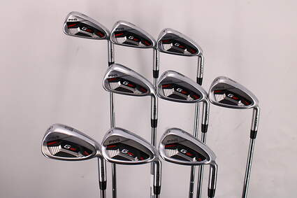 Ping G410 Iron Set 4-PW SW LW AWT 2.0 Steel Stiff Right Handed Black Dot 38.5in