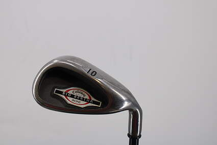 Callaway 2002 Big Bertha Single Iron Pitching Wedge PW Callaway RCH 75i Graphite Regular Right Handed 35.75in